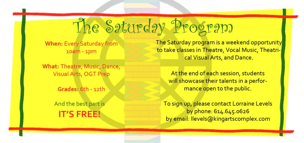 Saturday Program
