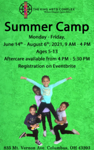Summer Camp Flier 2021 2